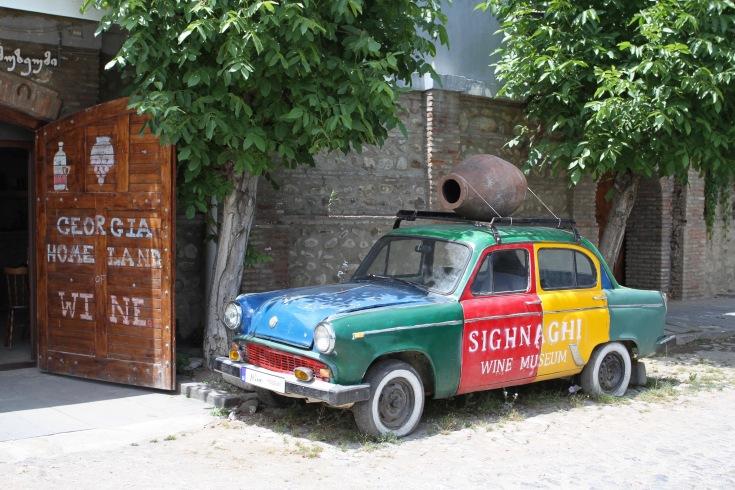 Wine cellar, Sighnaghi, Kakheti, Georgia