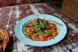 Georgian food, Sighnaghi, Kakheti, Georgia