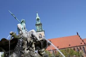St. Marienkirche, Alexanderplatz, Berlin