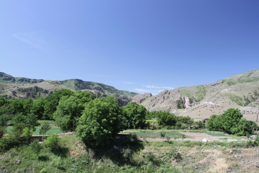 Mtkvari River valley, Georgia