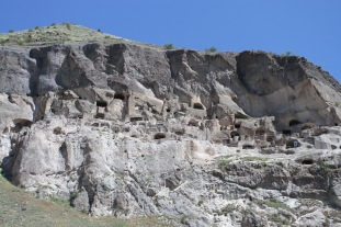 The cave city of Vardzia, Georgia
