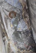 Frescoes, cave city of Vardzia, Georgia