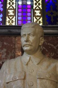 Statue of Joseph Stalin, Stalin Museum, Gori, Georgia