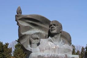 Soviet era statue, Berlin