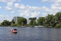 River Spree at Treptow Park, Berlin