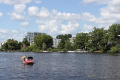 River Spree at Treptow Park, Berlin