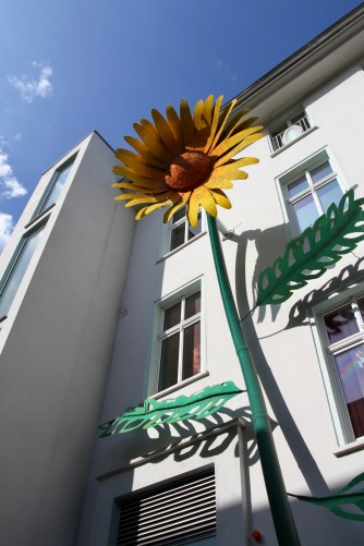 House along the route to Treptow Park, Berlin