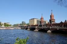 Oberbaumbrücke, River Spree, Berlin