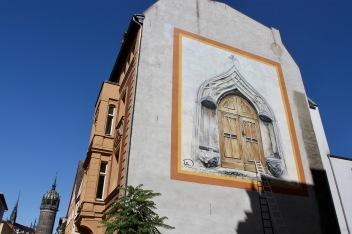 Street art, Lutherstadt Wittenberg, Germany