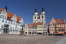 Marktplatz, Lutherstadt Wittenberg, Germany