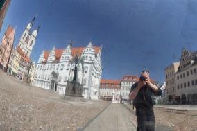 Globe, Marktplatz, Lutherstadt Wittenberg, Germany