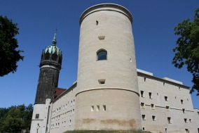 The castle, Lutherstadt Wittenberg, Germany