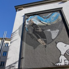 Believe in Dog by Fannakapan, Street Art, Berlin