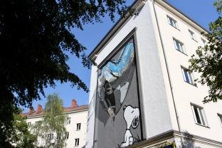 Believe in Dog by Fannakapan, Street Art, Berlin