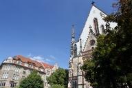 Thomaskirche, Leipzig, Germany