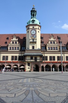 Old Town Hall, Marktplatz, Leipzig, Germany