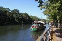Saale River, Halle, Germany