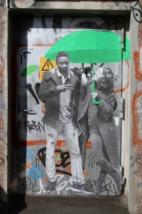 Le Mouvement, Street Art, Berlin, Germany