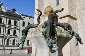 Dragons, Marktkirche Unser lieben Frauen, Halle, Germany
