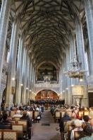 Choir in the Marktkirche Unser lieben Frauen, Halle, Germany
