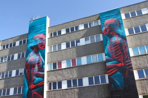 Underwater Kiss by insane 51, Street Art, Berlin