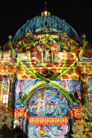 Berliner Dom, Festival of Lights, Berlin, Germany