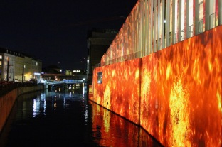 James-Simon-Galerie, Festival of Lights, Berlin, Germany