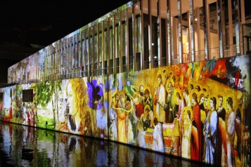 James-Simon-Galerie, Festival of Lights, Berlin, Germany