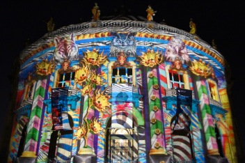 Bode Museum, Festival of Lights, Berlin, Germany