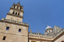 Cathedral, Salamanca, Castile and León, Spain