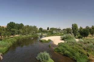 River Tormes, Salamanca, Spain
