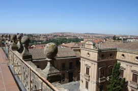 Cathedral roof, Salamanca, Castile and León, Spain