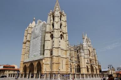 Leon Cathedral, Leon, Castilla y Leon