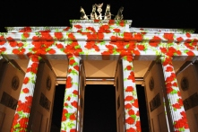Brandenburg Gate, Berlin Festival of Lights, Germany