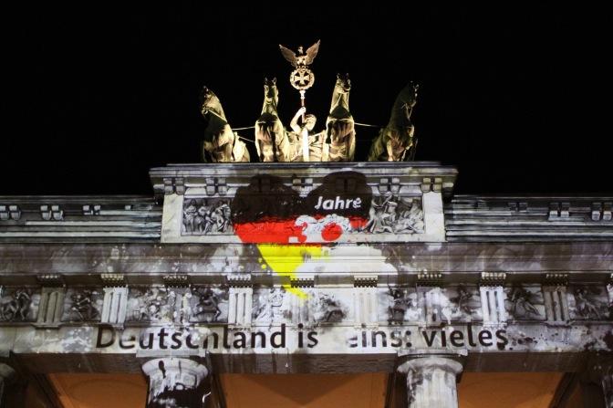 Brandenburg Gate, Berlin Festival of Lights, Germany