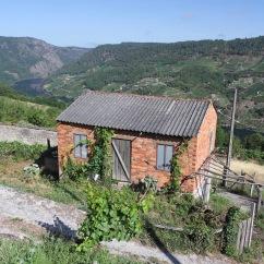 Vineyards and the River Sil, Ribeira Sacra, Galicia, Spain