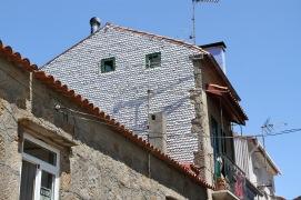 Sea shell house, Cambados, Galicia, Spain