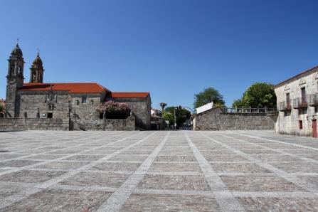 Praza de Fefiñáns, Cambados, Galicia, Spain