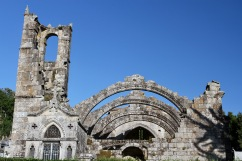 Ruins of Santa Mariña Church, Cambados, Galicia, Spain
