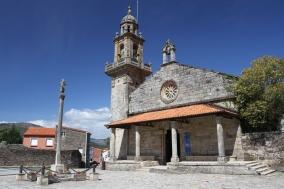 San Pedro Church, Muros, Galicia, Spain