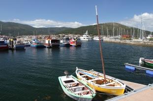 Harbour, Muros, Galicia, Spain
