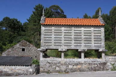 Horreo gain store, Galicia, Spain