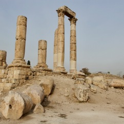 Temple of Hercules, Citadel, Amman, Jordan