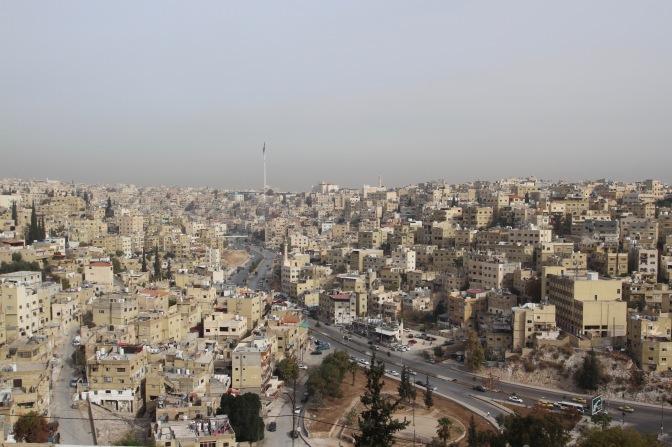 Amman from the Citadel, Jordan