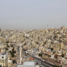 Amman from the Citadel, Jordan