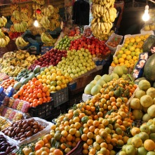 Fruit and vegetable souk, Amman, Jordan