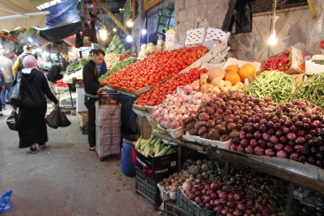 Fruit and vegetable souk, Amman, Jordan