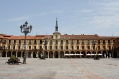 Plaza Mayor, Leon, Castilla y Leon, Spain
