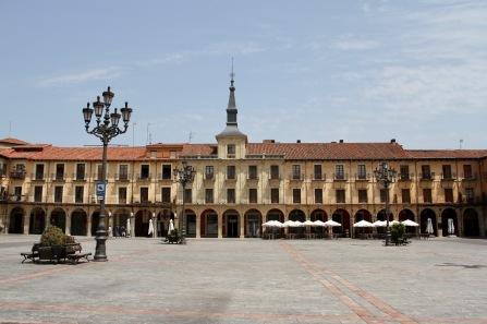 Plaza Mayor, Leon, Castilla y Leon, Spain