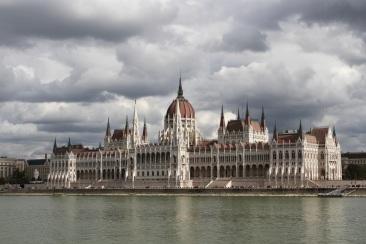 Hungarian Parliament, Budapest, Hungary